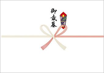 画像:紅白蝶結び